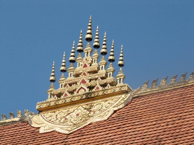Temple Roof, Vientiane, Laos