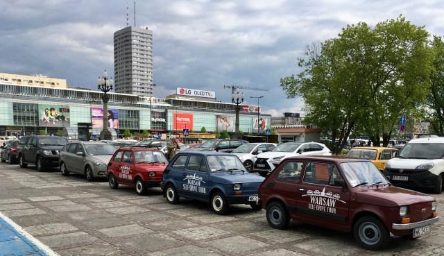 Warsaw Self Drive Tour