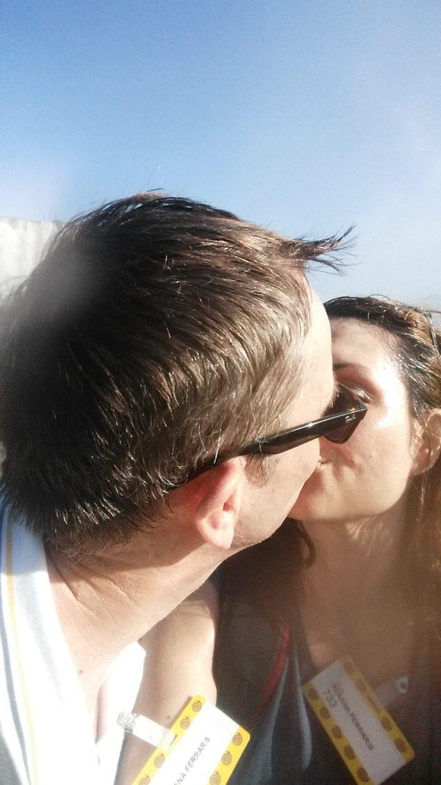 Wet Kiss At The Devil's Throat, Iguaçu Falls, Brazil