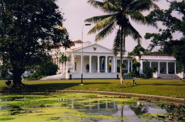 Presidential Palace, Bogor Botanical Gardens, Indonesia