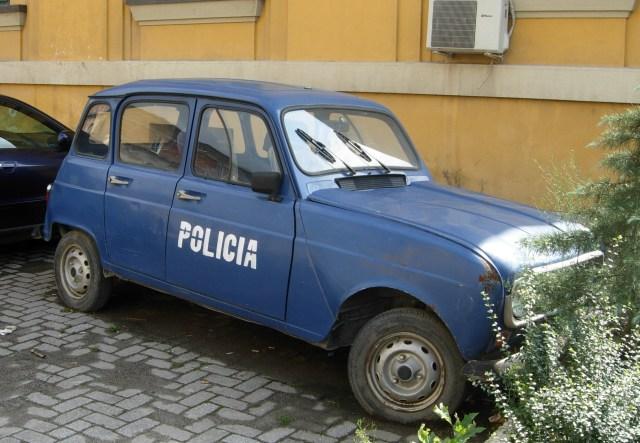 Police Car, Tirana, Albania