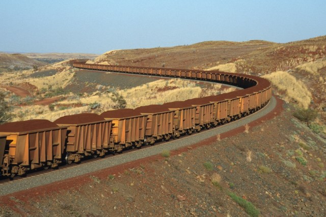Mauritania Iron Ore Train