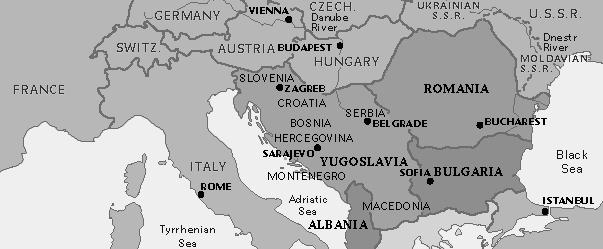 The Balkans In 1945