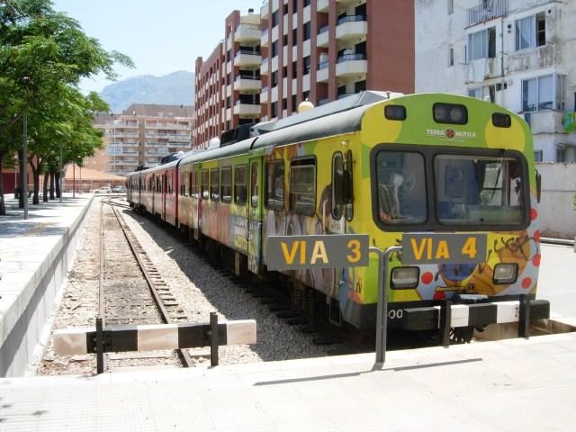 Denia to Alicante Train, Spain