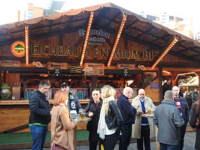 Christmas Market, Manchester, UK
