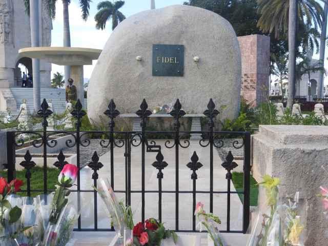 Fidel Castro's Grave, Santiago de Cuba