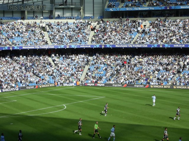 Manchester City v Newcastle United, Photo From The Etihad