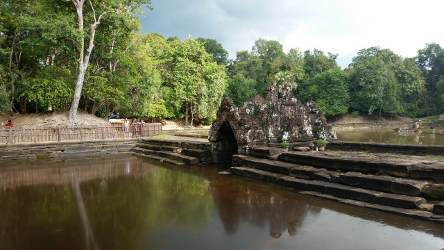 Khmer Temple, Siem Reap Province, Cambodia