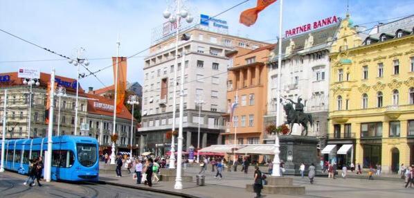 Main Square, Zagreb