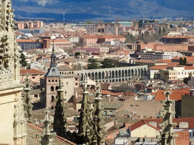 View from Segovia Cathedral, Spain
