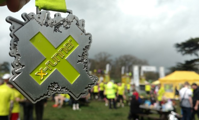 X-Runner Wild Mud Run -Medal