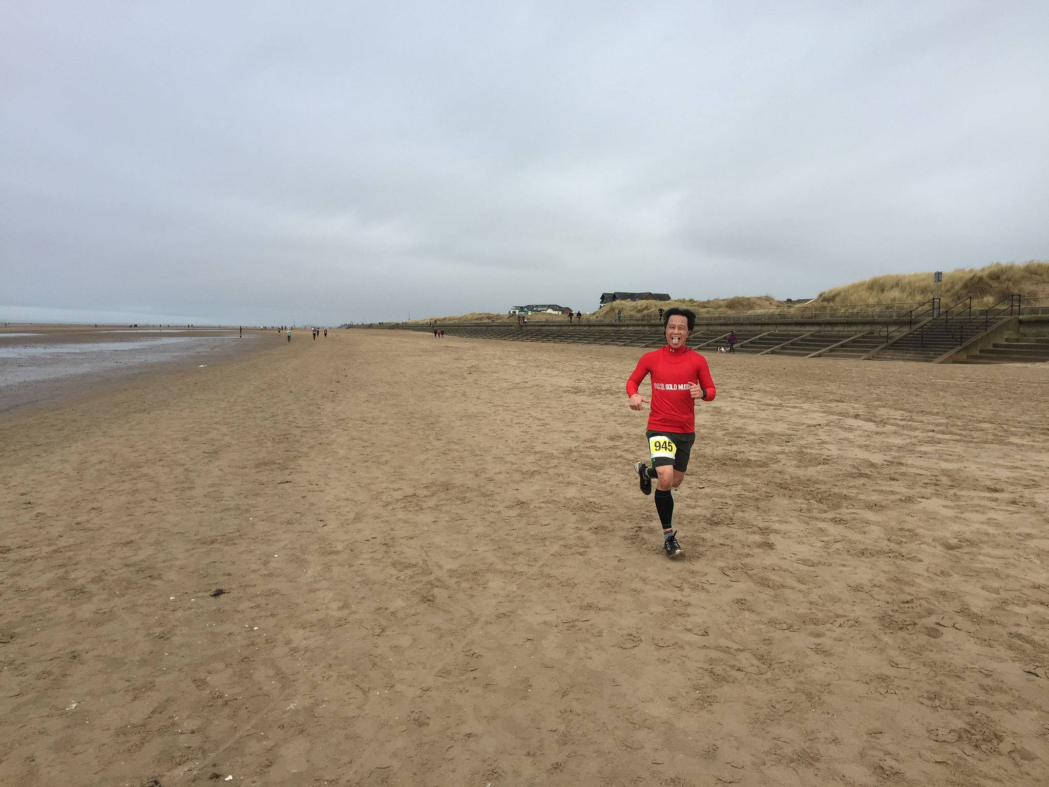 Wiggle Winter Beach Race
