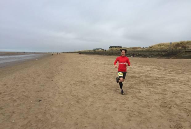 Wiggle Winter Beach Race