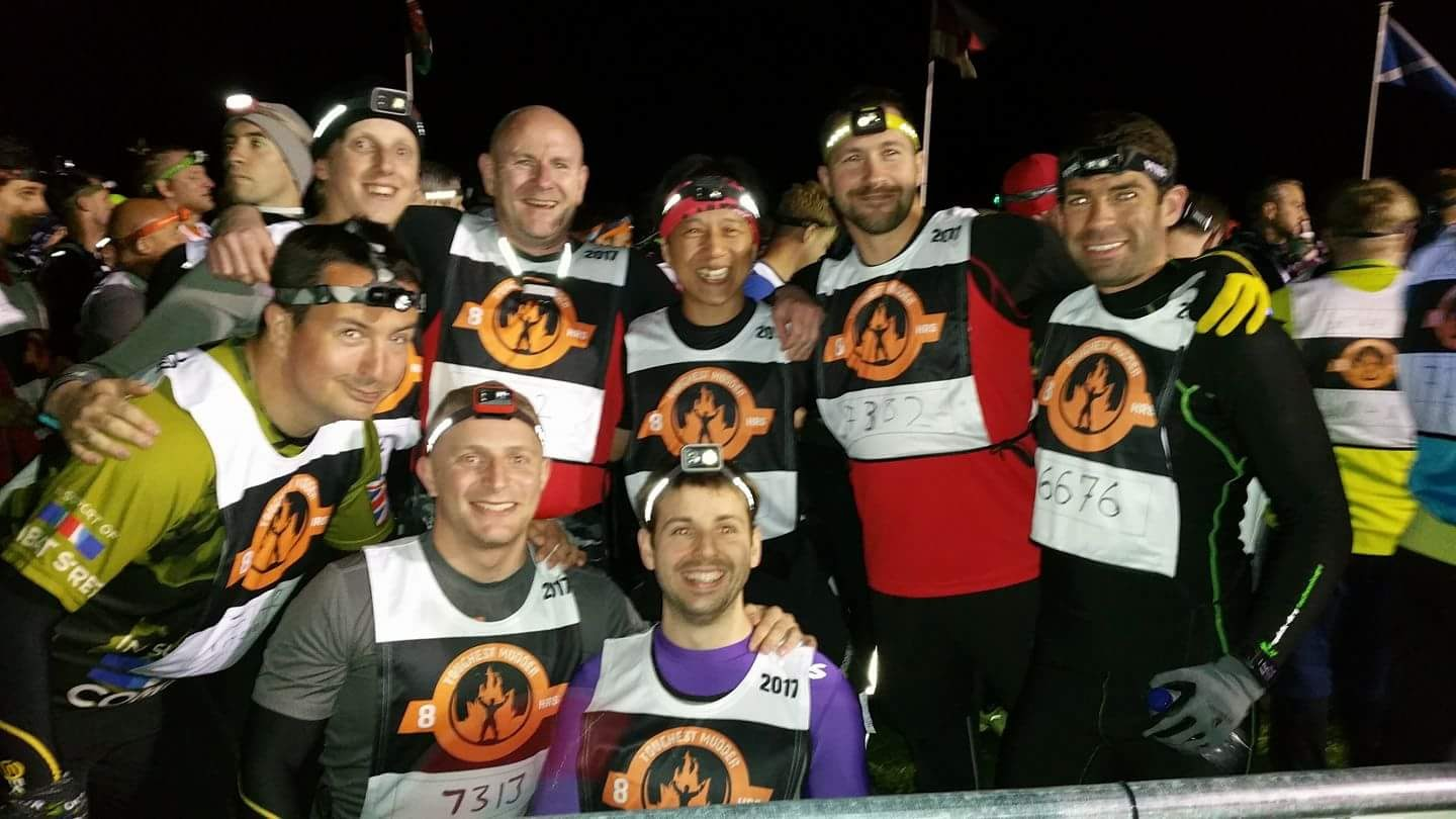 Ready for the start of Europes Toughest Mudder