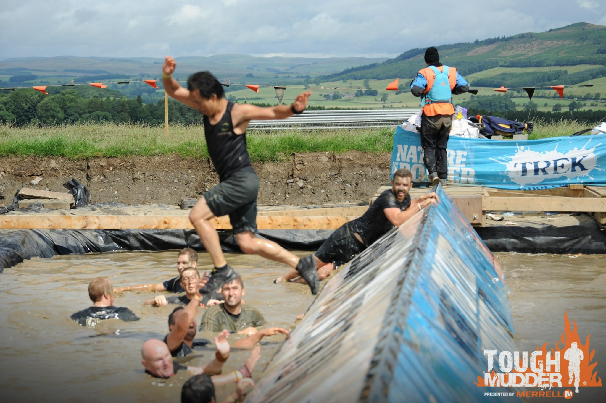 Tough Mudder Yorkshire Blockness1