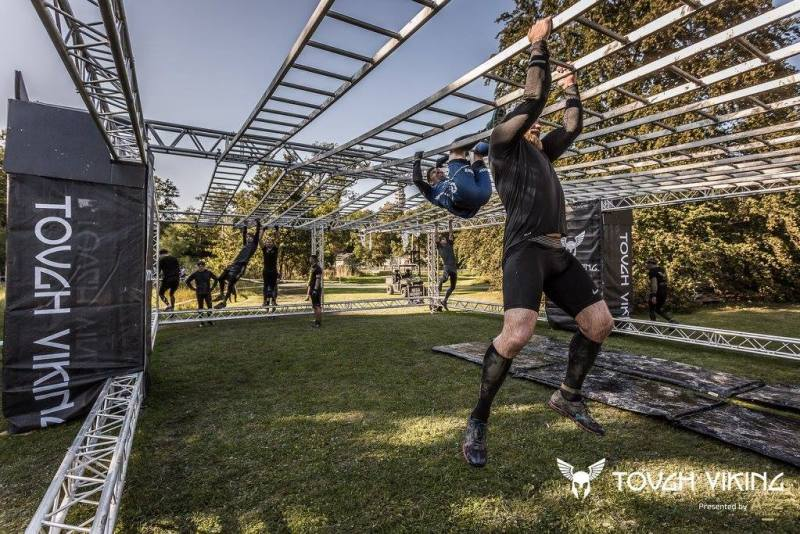 Tough Viking Monkey Bars
