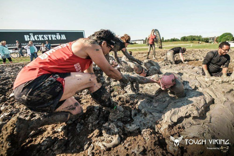 Tough Viking Mud Pit