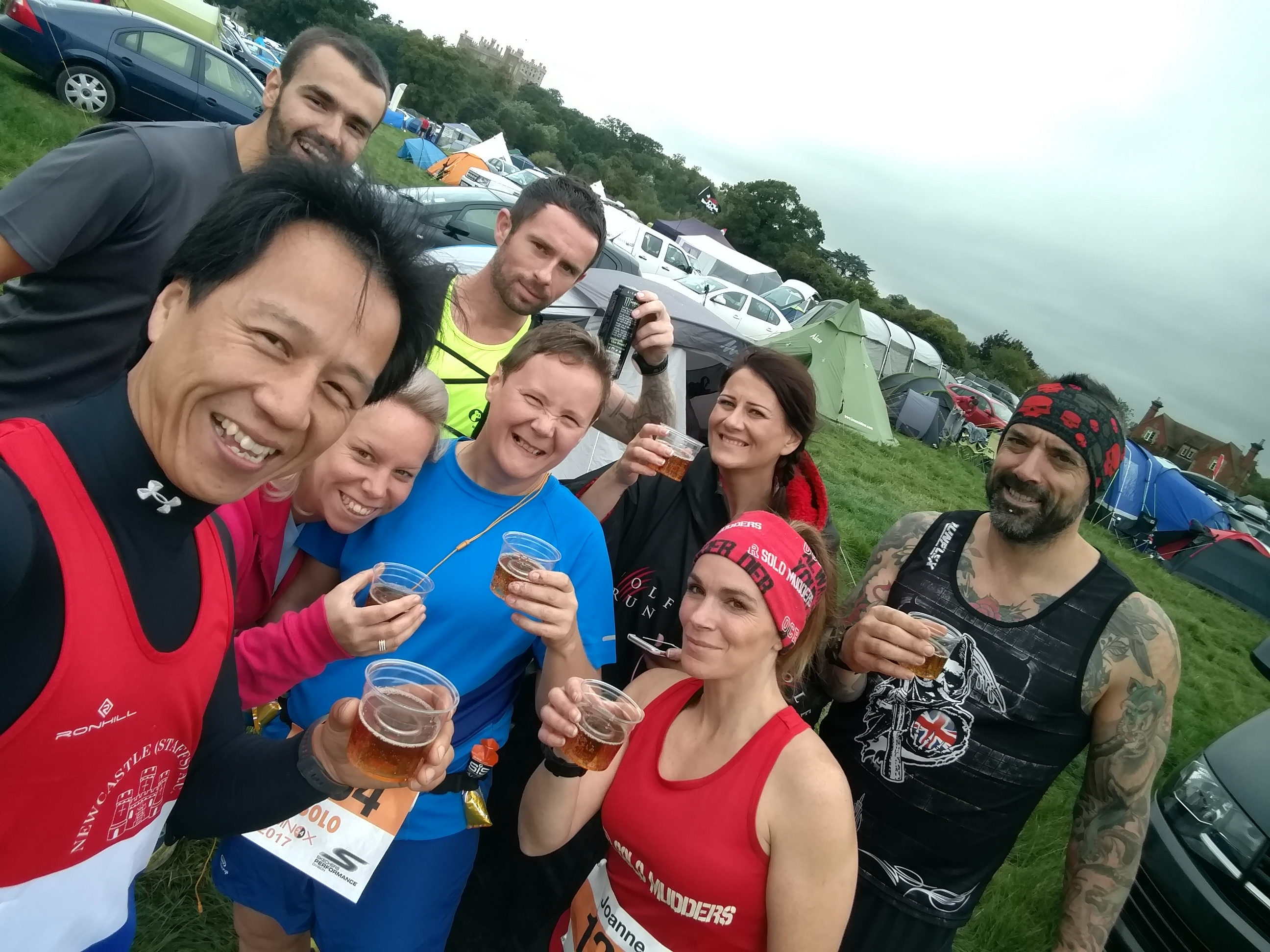 Equinox24 traditional pre-race Jaegarbomb