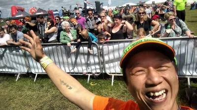 Volunteering at Tough Mudder