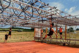Tough Mudder North London 2018 Wil Chung Funky Monkey 2