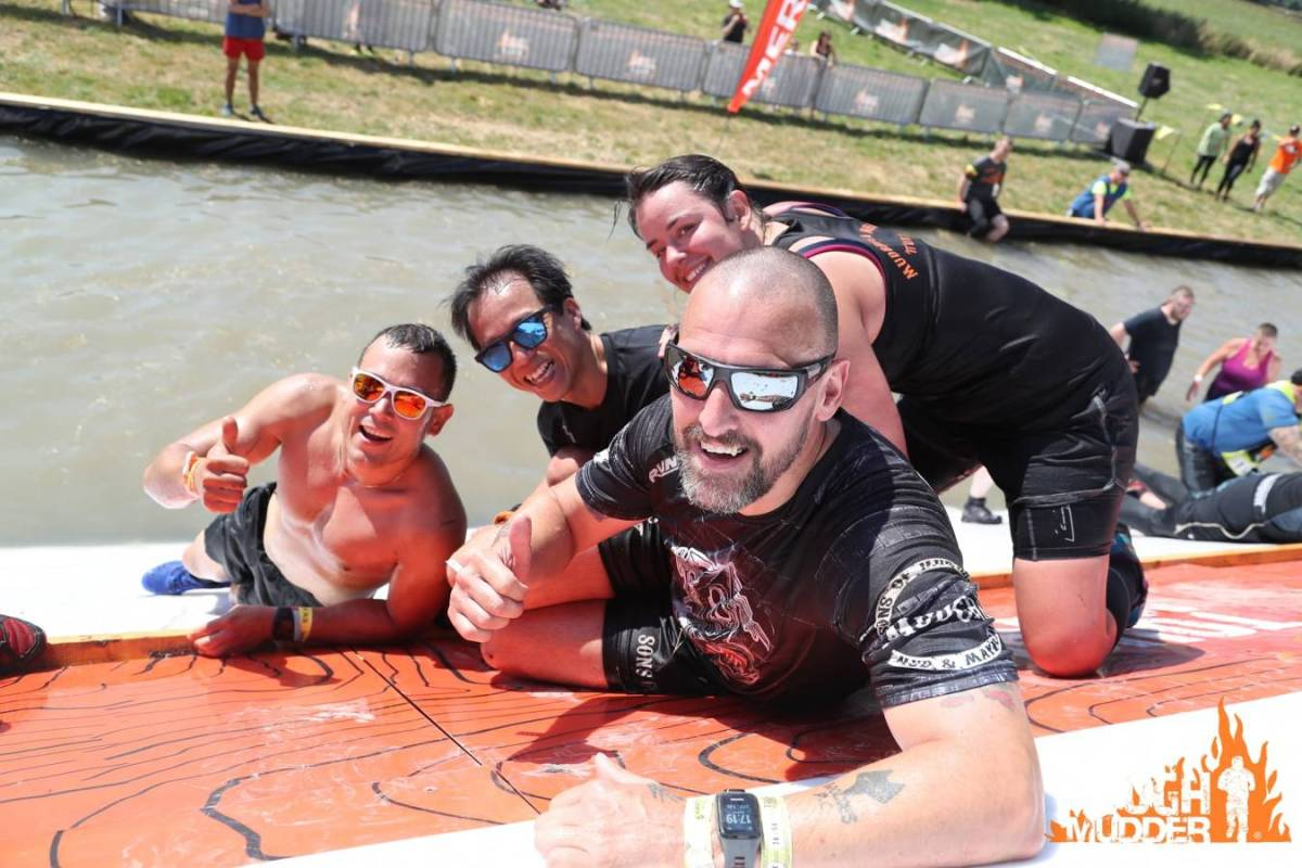 Tough Mudder North London 2018 Wil Chung Pyramid Scheme 2
