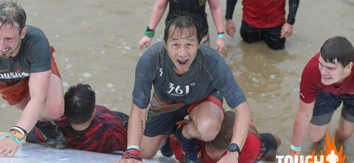 Tough Mudder Yorkshire 2018 Wil Chung Pyramid Scheme