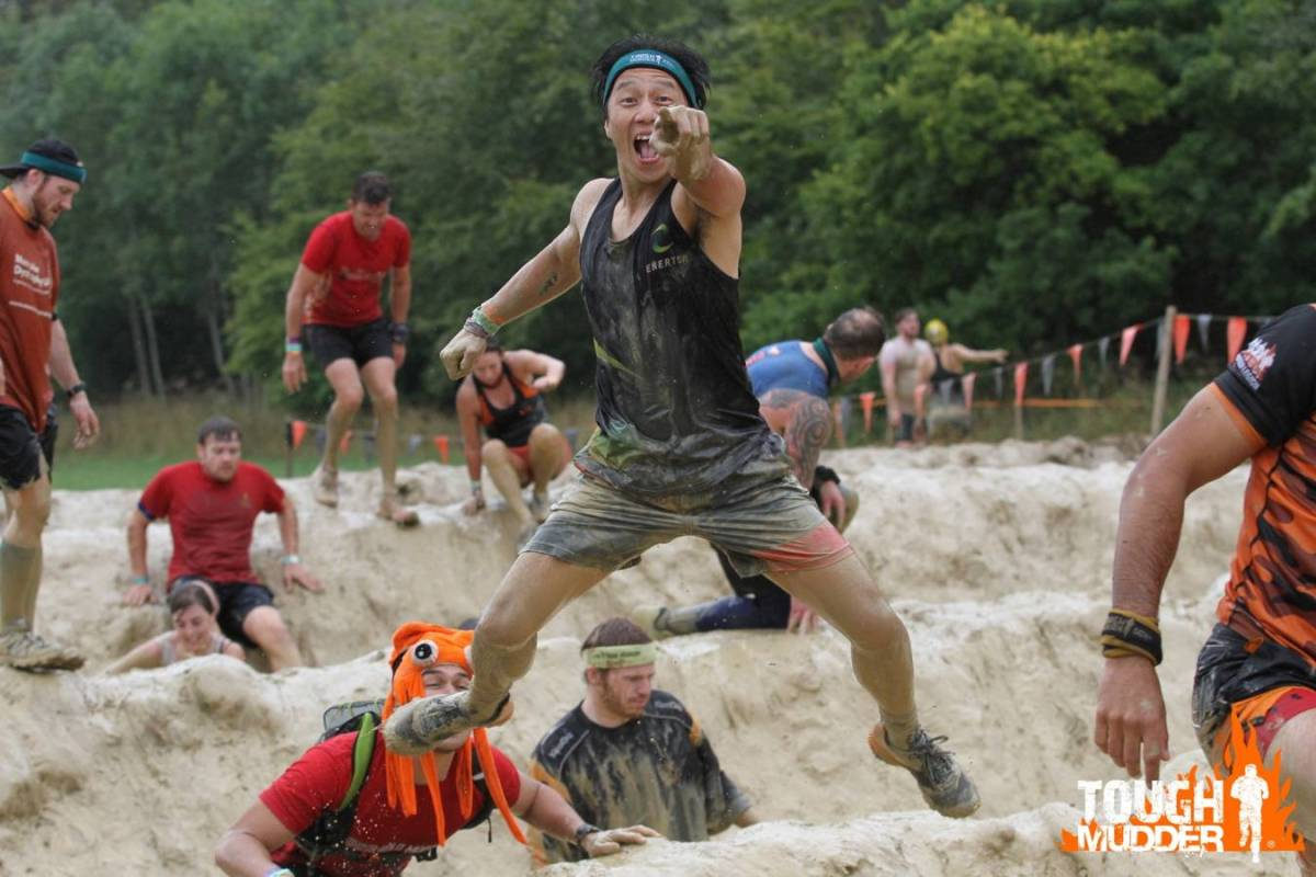 Tough Mudder South West 2018 Wil Chung Mud Mile