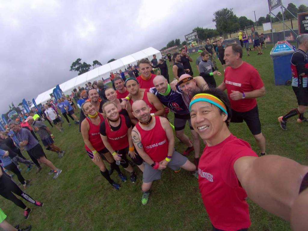 Tough Mudder South West 2018 Wil Chung Start Line
