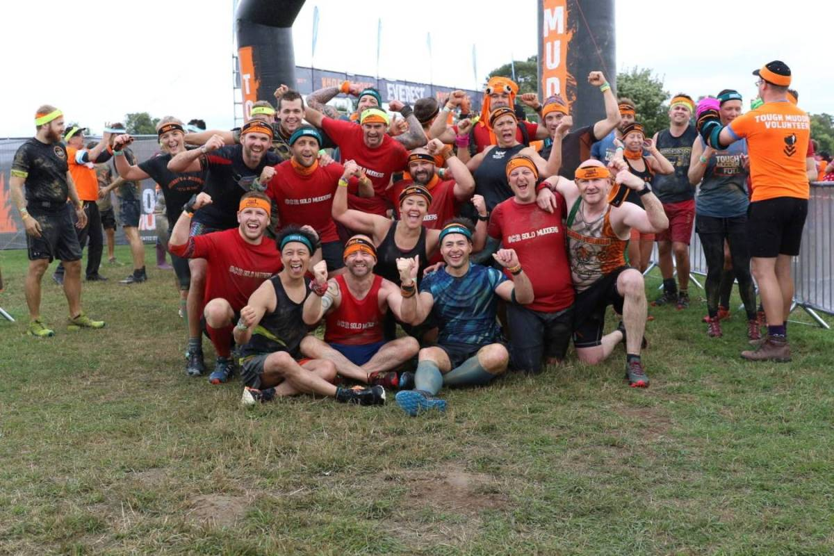 Tough Mudder South West 2018 Wil Chung Finish Line