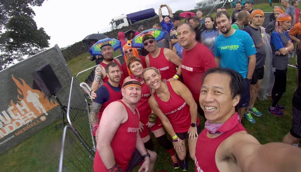 Tough Mudder Yorkshire 2018 Wil Chung Start Line