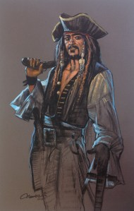 Pirate-With-Sword-and-Pistol-Giclee
