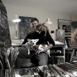Wil Cormier in Studio