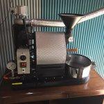 栃木県真岡市にナナハン焙煎機を設置しました。