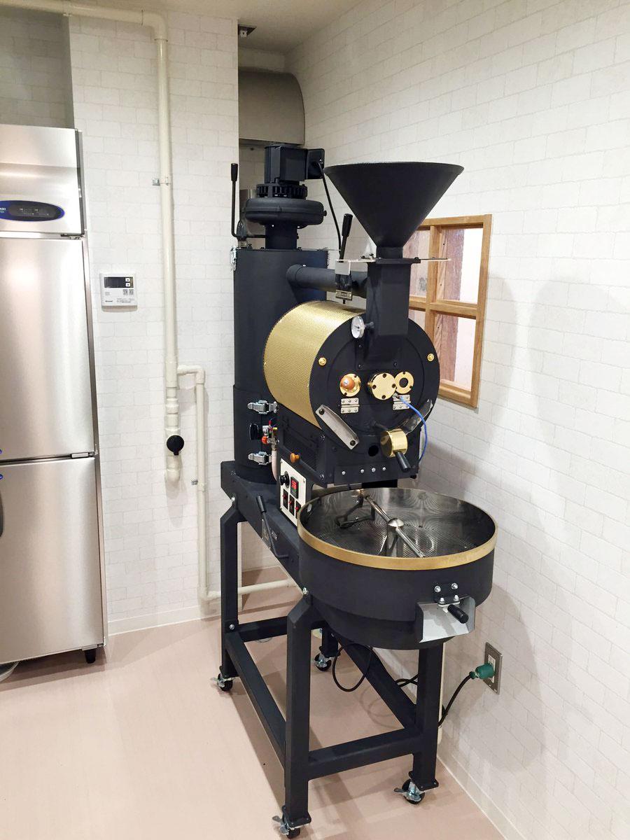 宮城県仙台市に2キロ焙煎機を設置しました。