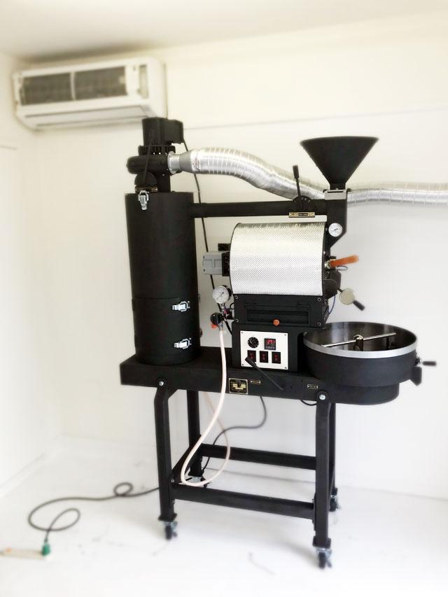 東京都杉並区に2kg焙煎機を設置しました。
