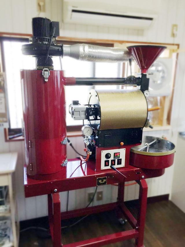 静岡県浜松市に2kg焙煎機を設置しました。