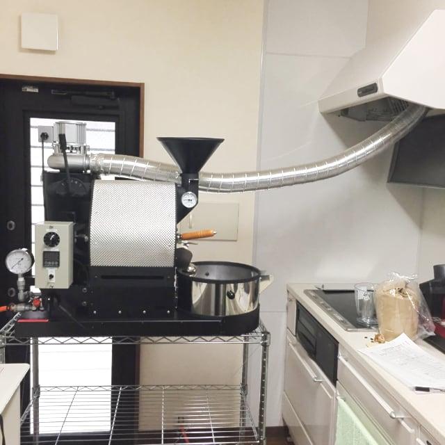 鳥取県鳥取市にナナハン焙煎機を設置しました。