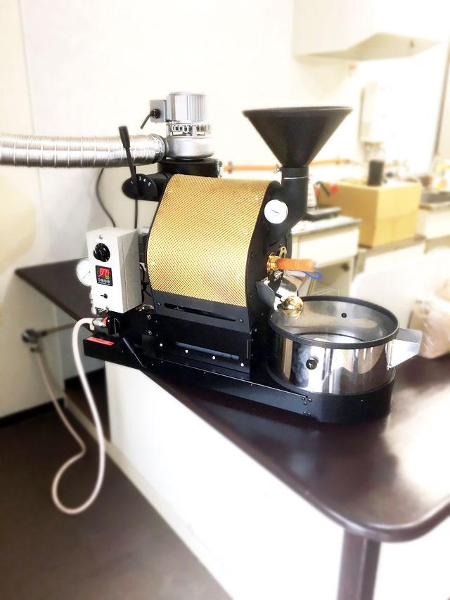 江戸川区東葛西にナナハン焙煎機設置しました。