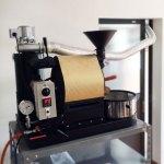 岡山県井原市にナナハン焙煎機を設置しました。