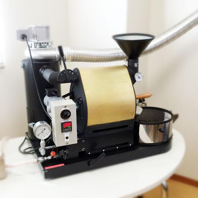 鹿児島県鹿児島市にナナハン焙煎機を設置しました。