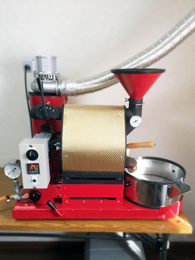 北海道札幌市豊平区にナナハン焙煎機を設置しました。