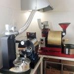 北海道釧路市美原にアポロ焙煎機を設置しました。