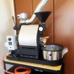 茨城県日立市にナナハン焙煎機を設置しました。