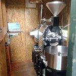 長崎県佐世保市にvasic2.5kg焙煎機を設置しました。