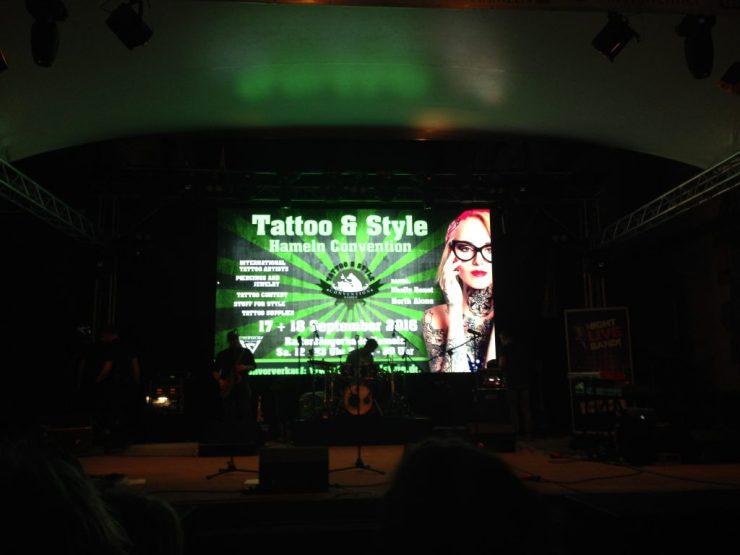 Tattoo und style auf dem Pflasterfest 2016 in der Rattenfänger Stadt Hameln
