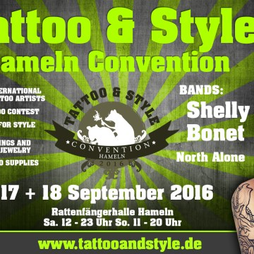 Tattoo und Style Convention Hameln 2016