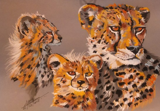 wildlife-art Animal-artist Illustrator Alan-Ainslie