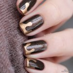 30 Deliciously Creative Chocolate Nail Designs Wild About Beauty