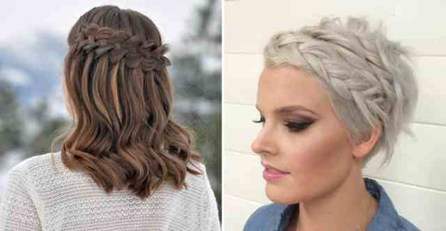29 swanky braided hairstyles to do on short hair - wild
