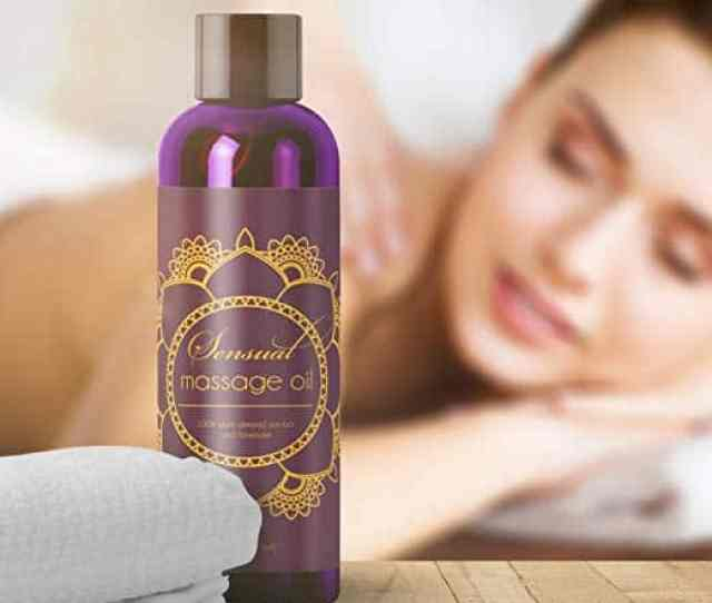 Sensual Massage Oil W Pure Lavender Oil Relaxing Almond Jojoba Oil
